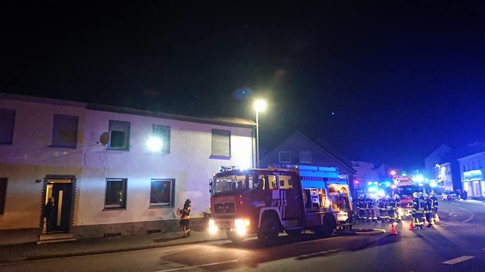 Einsatz Wohnungbrand mit Menschenrettung