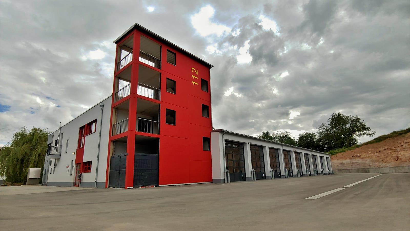 LB1 - Feuerwache Löschbezirk Mitte in der Triererstraße