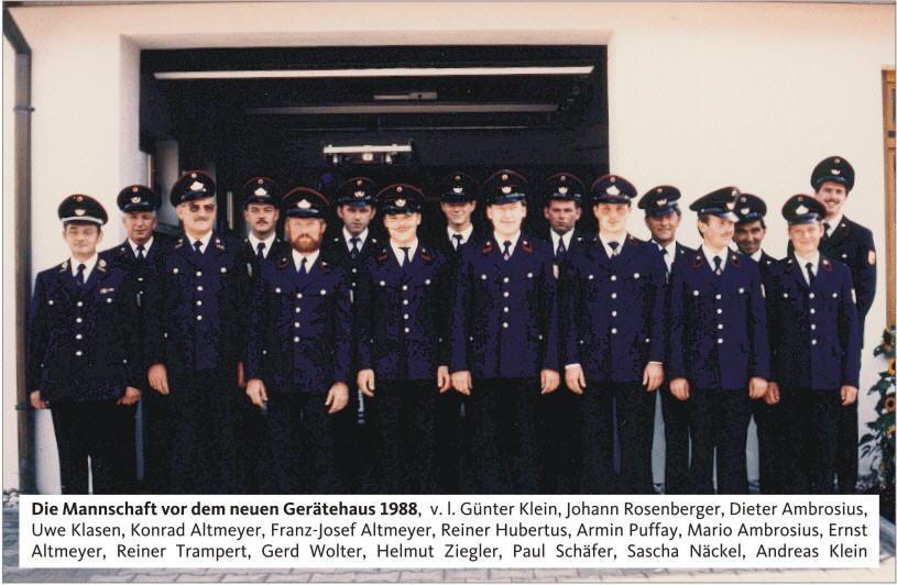 Mannschaft 1988