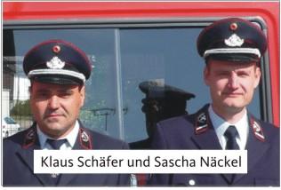 Sascha Näckel und Klaus Schäfer