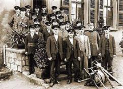 Manschaft der FFW Berschweiler 1924