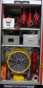 Feuerwehr Heusweiler Löschbezirk Kutzhof Fahrzeug LF 8/8, Funkrufname 7/42, Geräteraum 1