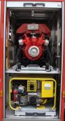 Feuerwehr Heusweiler Löschbezirk Kutzhof Fahrzeug LF 8/8, Funkrufname 7/42, Geräteraum 2