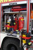 Feuerwehr Heusweiler Löschbezirk Kutzhof Fahrzeug LF 8/8, Funkrufname 7/42, Geräteraum 3