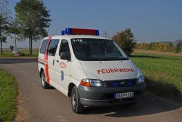 Mannschaftstransportwagen MTW - Front - Heusweiler 1/18