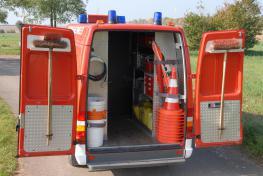 Gerätewagen - Heck offen - LB1 - 1/60