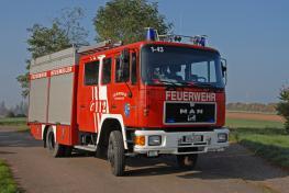 Löschfahrzeug LF 16/16 - Front - LB1 - 1/43
