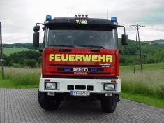 Feuerwehr Heusweiler Löschbezirk Kutzhof Fahrzeug LF 8/8, Funkrufname 7/42