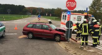 Verkehrsunfall L140 Obersalbach