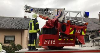 Einsatz 2018-4-4 Kaminbrand Bild 2